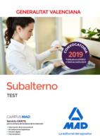 Subalterno de la Generalitat Valenciana. Test