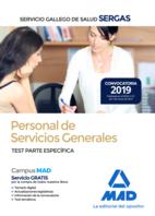 Personal de Servicios Generales del Servicio Gallego de Salud (SERGAS). Test Parte Específica
