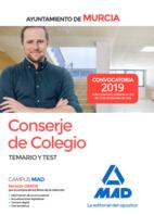 Conserje de Colegio del Ayuntamiento de Murcia. Temario y test