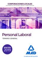 Personal Laboral de Corporaciones Locales. Temario General