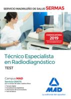 Técnico  Especialista en Radiodiagnóstico del Servicio Madrileño de Salud. Test