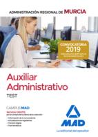 Auxiliar Administrativo de la Administración Regional de Murcia. Test