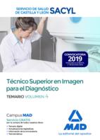 Técnico Superior en Imagen para el Diagnóstico del Servicio de Salud de Castilla y León (SACYL). Temario Volumen 4