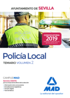 Policía Local del Ayuntamiento de Sevilla. Temario Volumen 2