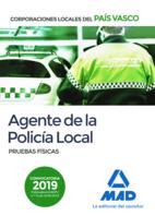 Agente de la Policía Local del País Vasco. Pruebas físicas