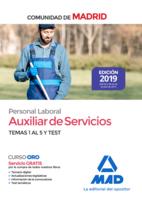 Auxiliar de Servicios. Personal Laboral de la Comunidad de Madrid Temas 1 al 5 y test.