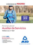 Auxiliar de Servicios. Personal Laboral de la Comunidad de Madrid Temas 6 al 9 y test.