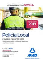 Policía local del Ayuntamiento de Sevilla. Pruebas psicotécnicas