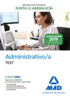 Administrativo de la Junta de Andalucía Promoción Interna. Test