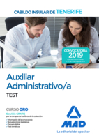 Auxiliar Administrativo/a del Cabildo Insular de Tenerife. Test