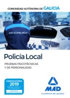 Policía Local de la Comunidad Autónoma de Galicia. Pruebas psicotécnicas y de personalidad