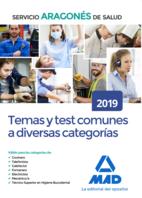 Temas y test comunes a diversas categorías del Servicio Aragonés de Salud