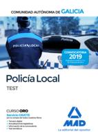 Policía Local de la Comunidad Autónoma de Galicia. Test