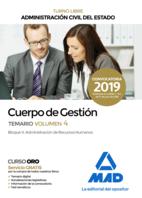 Cuerpo de Gestión de la Administración Civil del Estado (Turno Libre). Temario volumen 4