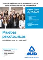 Hospital Universitario Fundación de Alcorcón y Hospital Universitario de Fuenlabrada. Pruebas psicotécnicas para personal no sanitario (celador, auxiliar de servicios, auxiliar administrativo y administrativo).