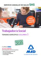 Trabajador/a Social del Servicio Andaluz de Salud. Temario específico volumen 3