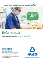 Enfermero/a del Servicio Andaluz de Salud. Temario específica volumen 3