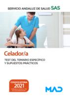 Celador/a del Servicio Andaluz de Salud. Test del temario específico y Supuestos Prácticos