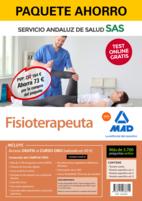 Paquete Ahorro y Test online GRATIS Fisioterapeuta del Servicio Andaluz de Salud. Ahorra 77 € (incluye Temario común; Temario específico volúmenes 1, 2 y 3; 3700 test online gratis y acceso a Curso Oro)