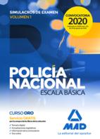 Policía Nacional Escala Básica. Simulacros de examen 1