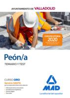 Peón/a del Ayuntamiento de Valladolid. Temario y test