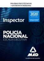 Inspector de Policía Nacional. Pruebas psicotécnicas y entrevista personal