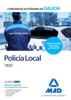 Policía Local de la Comunidad Autónoma de Galicia. Test.