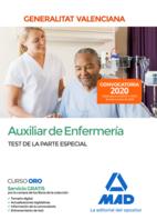 Auxiliar de Enfermería de la Administración de la Generalitat Valenciana. Test de la Parte Especial