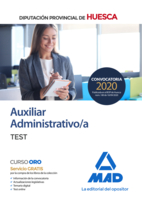 Auxiliar Administrativo de la Diputación Provincial de Huesca. Test