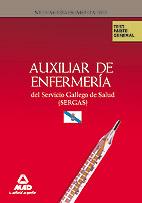 Auxiliares de Enfermería del Servicio Gallego de Salud (SERGAS). Test parte General